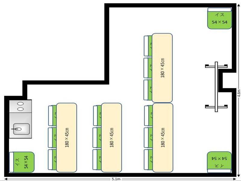 ★ComfortSpace水道橋Ⅱ★水道橋駅2分!無料Wifi・プロジェクター完備 完全個室24時間(1~15名〕軽飲食可!会議・仕事・セミナー・オフ会・お茶会・勉強会・レッスンなどに。【INB】