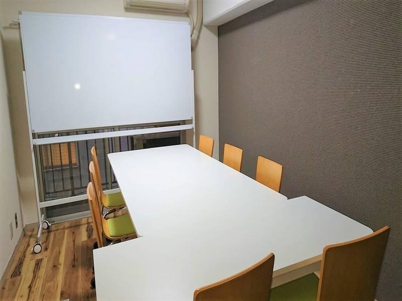 【リモートワーク応援キャンペーン】ワンコイン会議室博多 博多西口会議室 個室(2)