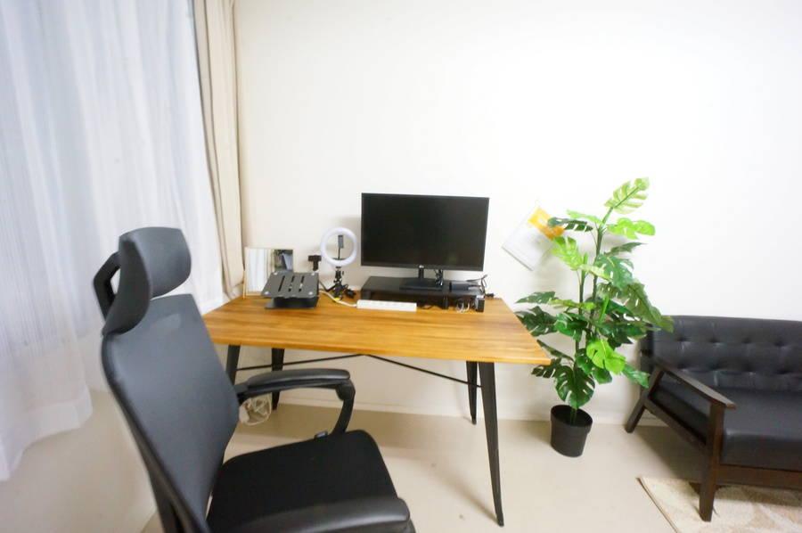 <天神南ミニマルオフィス>オシャレな完全個室✨モニター/Wi-Fiあり!テレワーク/Web会議,面接