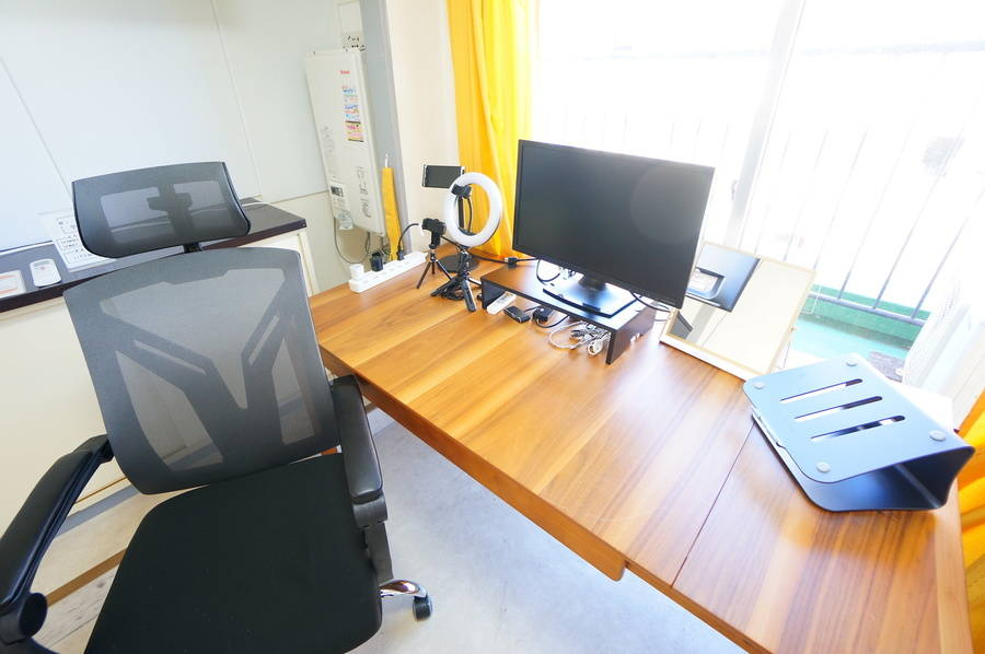 ⭐️光回線導入!⭐️<ゴールドワークスペース>完全個室✨光wifi/ホワイトボード/モニター無料!テレワーク/Web会議