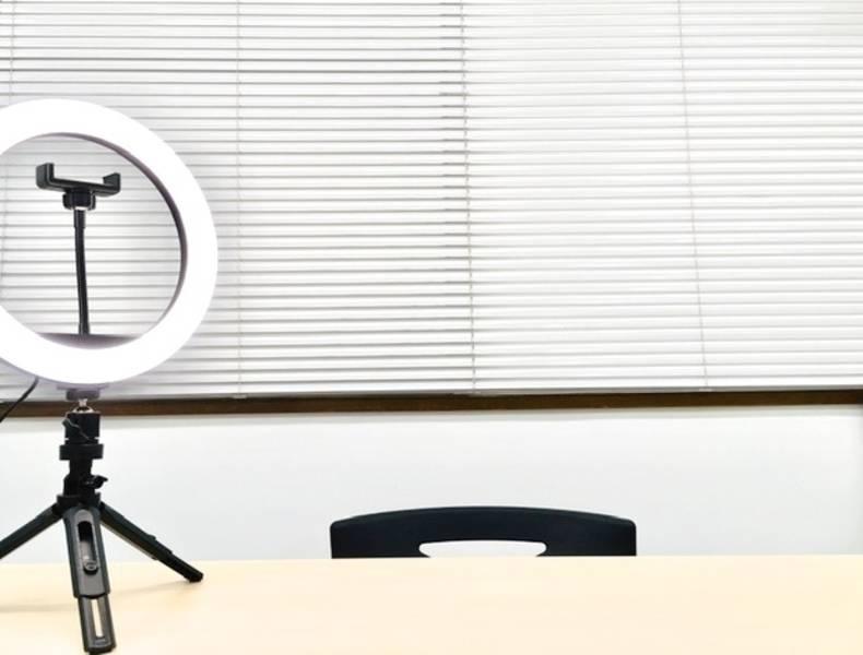 dysonでウイルス除去 ★神保町コトリノトリコ★ 高速光wi-fi 土足OK 50V型TV ホワイトボード リングライト セミナー 研修 動画撮影 テレワーク