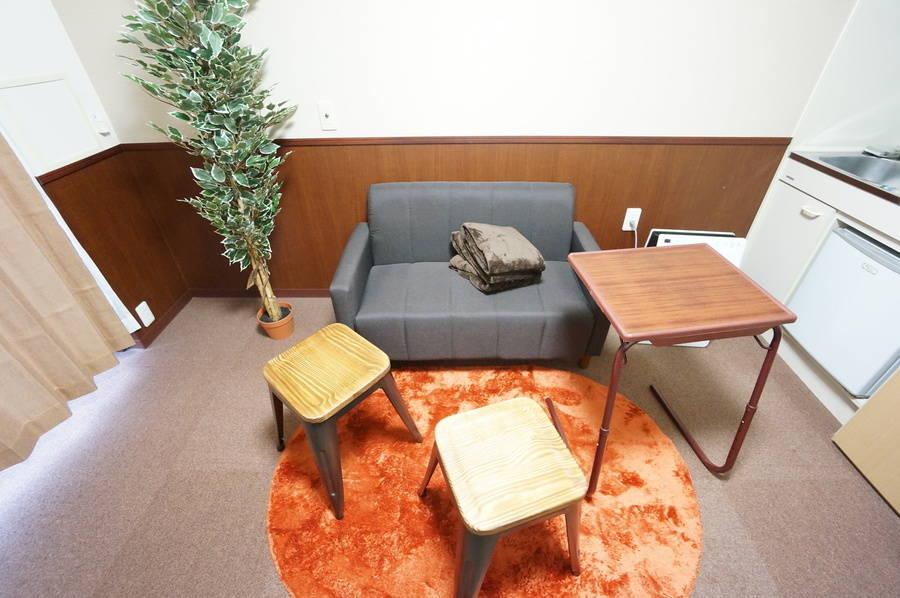 <天満橋ミニマルオフィス302>⭐️OPEN SALE⭐️オシャレな完全個室✨モニタ/Wi-Fi無料!テレワーク/Web会議