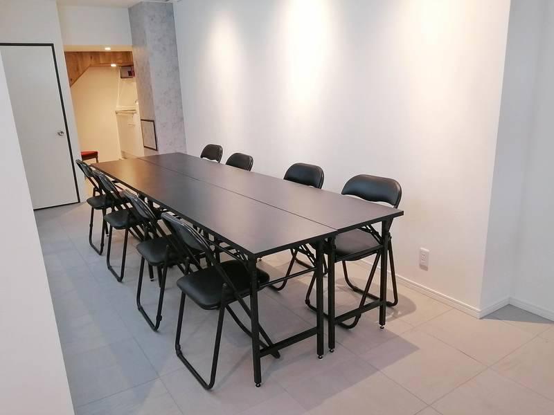 【東銀座5番出口より1分】毎回清掃!換気可/高速wifi/土足/静かできれいな個室空間/レッスン・会議・撮影・ワークショップなど