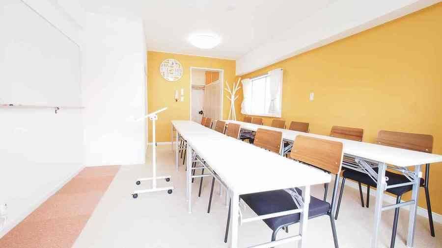 【HIDAMARI】渋谷 5分 Wi-Fi 電源 プロジェクター 無料の明るい貸し会議室