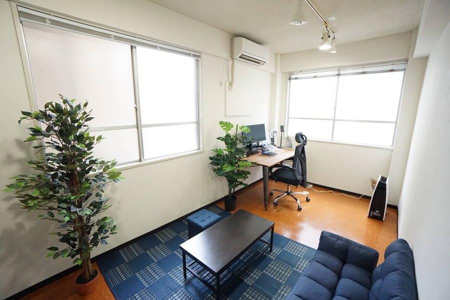<水道橋ミニマルオフィス>オシャレな完全個室✨モニター/Wi-Fiあり!テレワーク/Web会議,面接