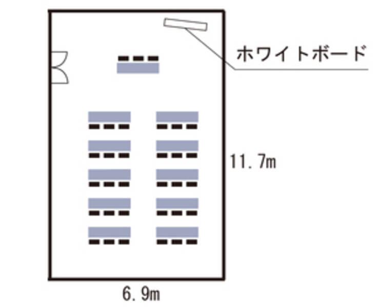 キューホー江坂ビル2F【新大阪・江坂エリア!】10~33名まで。綺麗な内装で、無料備品も多数!