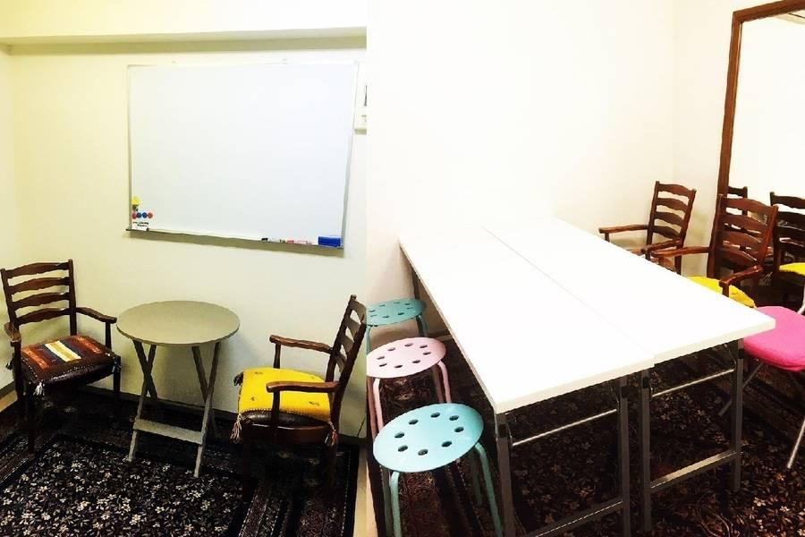 中目黒102会議室/24hOK 除菌で安心/静かな個室/メイク・作業・打ち合わせ・オンラインレッスン・テレワークに最適