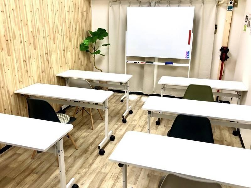 ⭐️光回線導入!リニューアルセール中⭐️コロナ対策中・換気可能〈アルトリア会議室〉新大阪駅✨明るいカフェのような会議室✨テレワーク/セミナー