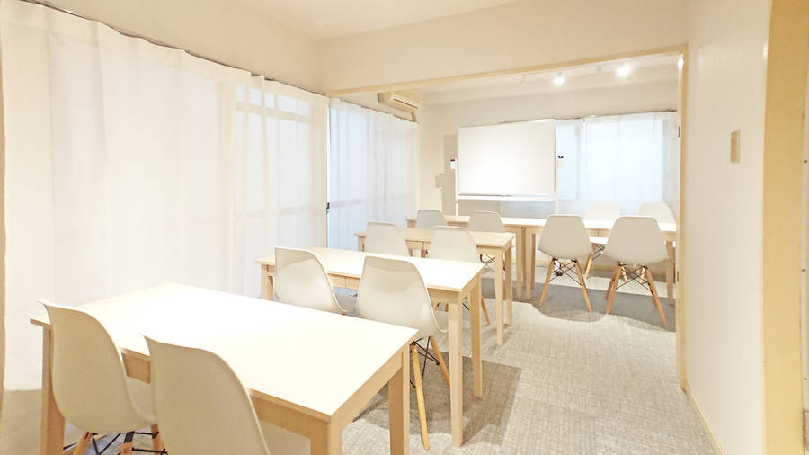 【銀山町5分!】完全個室/テレワーク/高速wi-fi/ホワイトボード・プロジェクター完備/安くてゆったり使えるシェアスペース「Drop by Kanayama」
