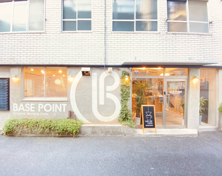 【スタッフ・利用毎除菌徹底】Caféの2階会議室(ブースB)有人受付、30分単位、Wifi、PCモニタ