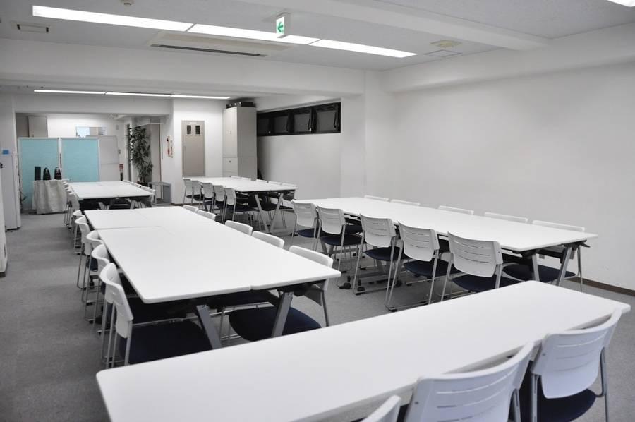 【五反田駅5分】24H営業!清潔感のあるフレキシブル会議室(40名)