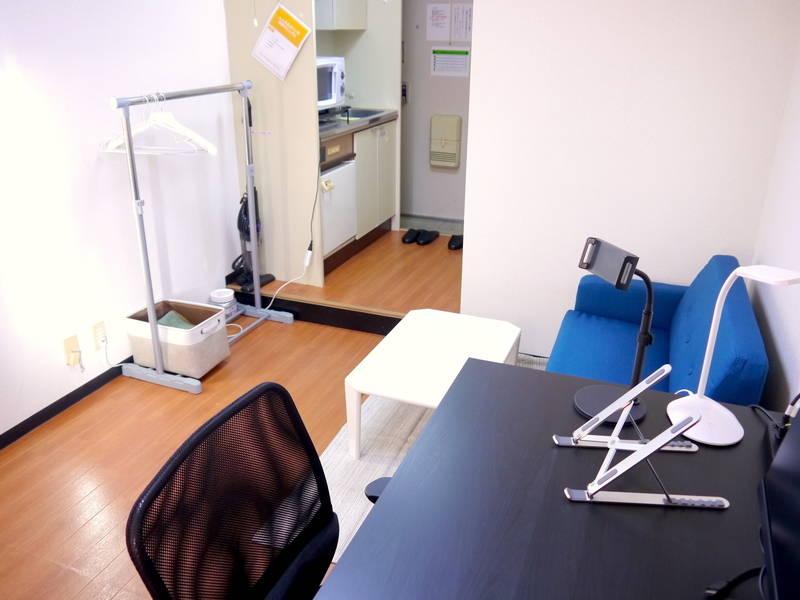 <淡路ミニマルオフィス205>完全個室✨モニター/LEDライトあり!テレワーク/Web会議,面接