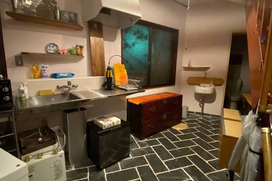 同窓会や歓送迎会 狭いのに広い キッチン付きレンタルスペース お料理教室にも