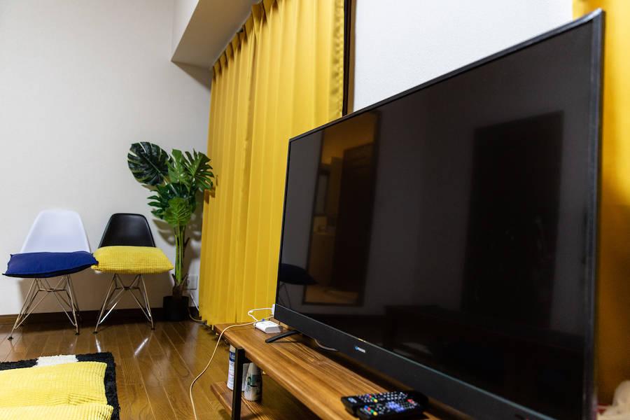 ⭐️光回線導入!⭐️<バンビスペース>テレワークや仕事部屋として最適!WEB面接もOKのマルチスペース!広々リビング♪長期予約も可能
