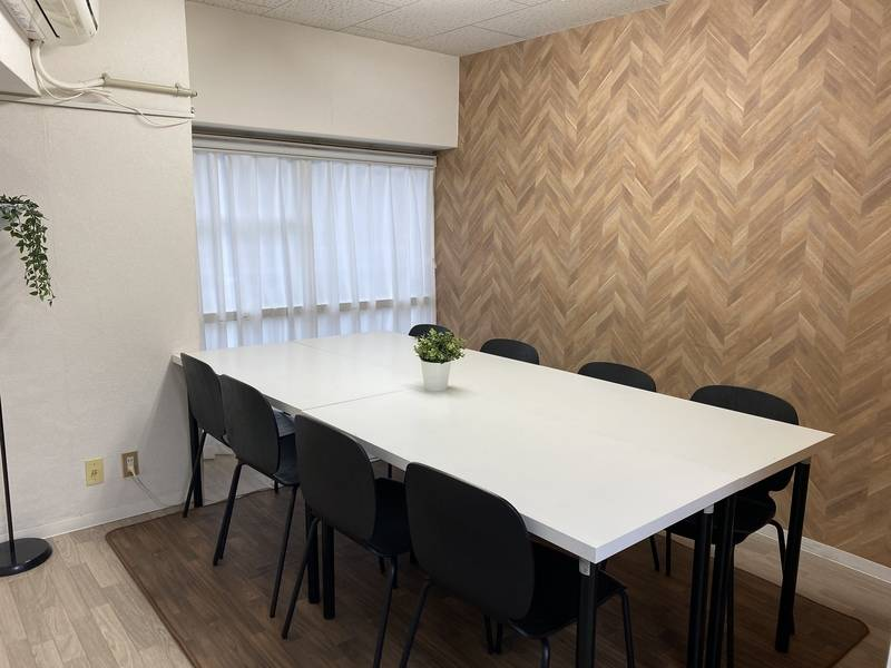 【名古屋駅新幹線口から徒歩4分】会議室・待合室に!窓3箇所あり換気できます!