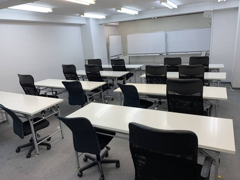 【4/25営業終了】江戸通り沿い 広々講習・会議スペース 「ソレイユ」  ~ free Wi-Fi これまでご利用いただきありがとうございました
