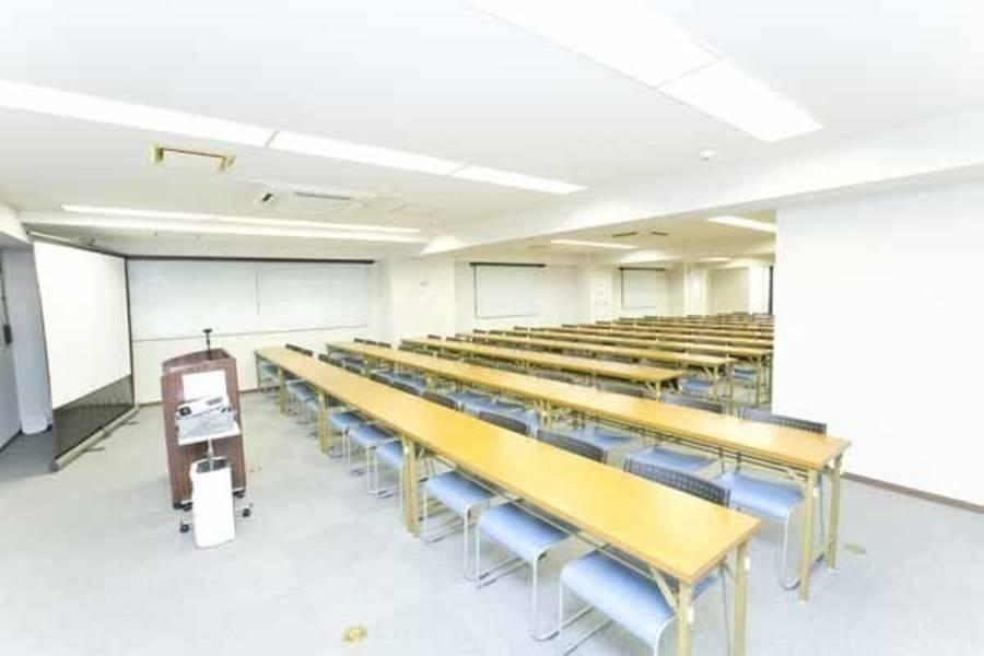 【浜松町/大門・50名・プロジェクターなど充実の無料設備】浜松町北口駅前 3階(50名用)