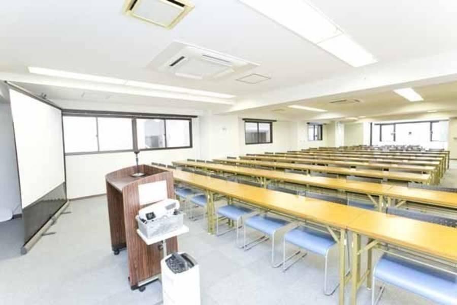 【浜松町/大門・100名・プロジェクターなど充実の無料設備】浜松町北口駅前 3階(100名用)
