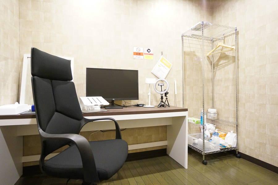 <大国町ミニマルオフィス>完全個室✨モニター/Wi-Fiあり!テレワーク/リモートワーク/Web会議,面接/撮影