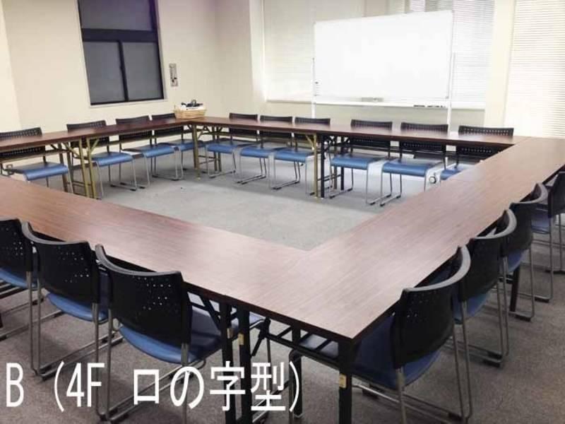 【東京・36名・プロジェクターなど充実の無料設備】八重洲フィナンシャルビル A (2F島型)