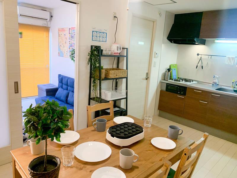 koburi HOUSE8 【大宮 徒歩7分】【ゴミ捨無料】除菌清潔/Wi-Fi/50型TV/テレワーク  Web会議や面接などにも