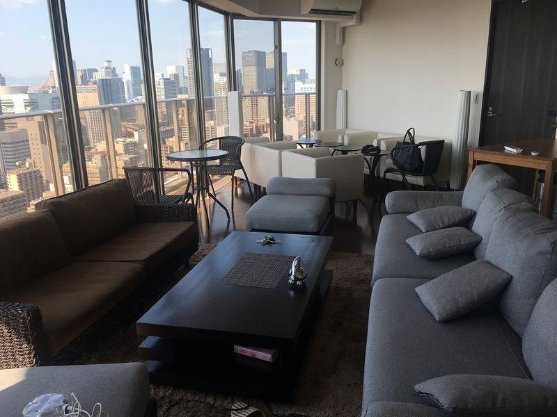 33階で演出できるタワーマンションのスペースです お洒落に至福の時間お約束できます 立地も駅上で便利な場所です!!