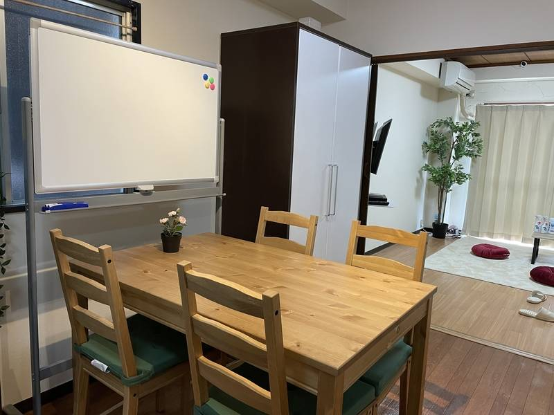 sona room2【高崎駅 徒歩5分】出入り自由/~10名/24h可