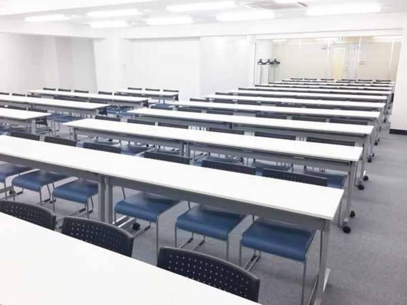 【千葉・90名・プロジェクターなど充実の無料設備】千葉駅前 RoomC+控え室