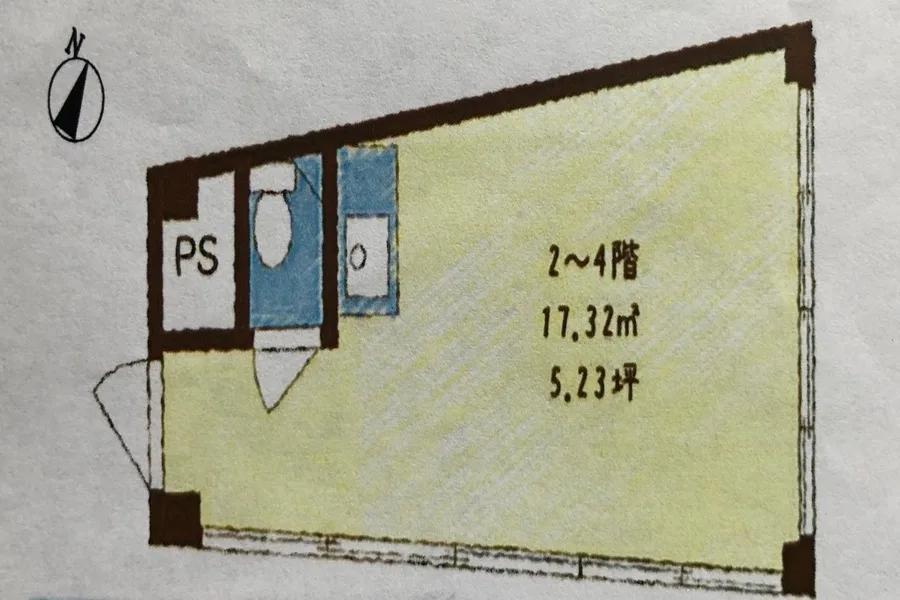 【forspace代々木Ⅱ】代々木駅徒歩2分!/高速インターネット/土足OK!/おしゃれな空間