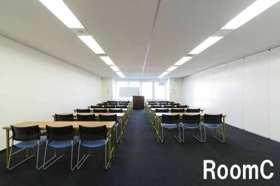 【秋葉原・204名・プロジェクターなど充実の無料設備】 RoomA+B+C(連結)
