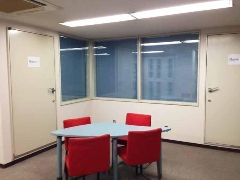 【虎ノ門・4名・充実の無料設備】虎ノ門 7F Room3