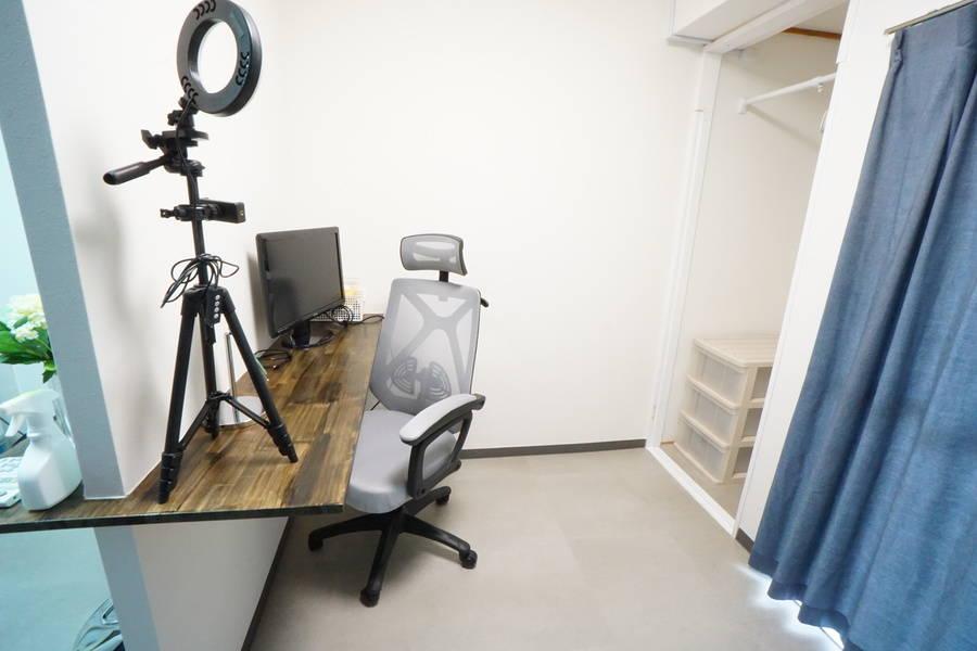<緑地公園ミニマルオフィス506>完全個室✨モニター/Wi-Fiあり!テレワーク/Web会議/作業場所