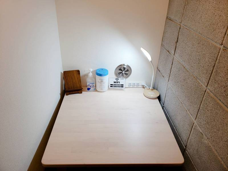 JR高田馬場駅徒歩圏内!「完全個室」空調完備♪24時間換気リモートワークに最適スペース[E]タイプ