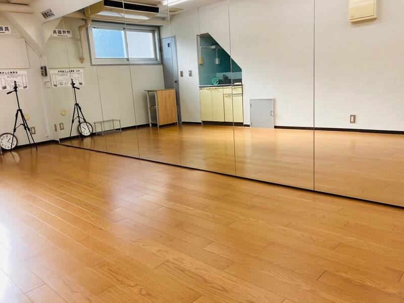 【6/1〜営業再開】【高田馬場駅1分】都内最安級! ダンススタジオですが、会議室・サロン・ヨガにも◎、高速光WIFI有り、換気可!