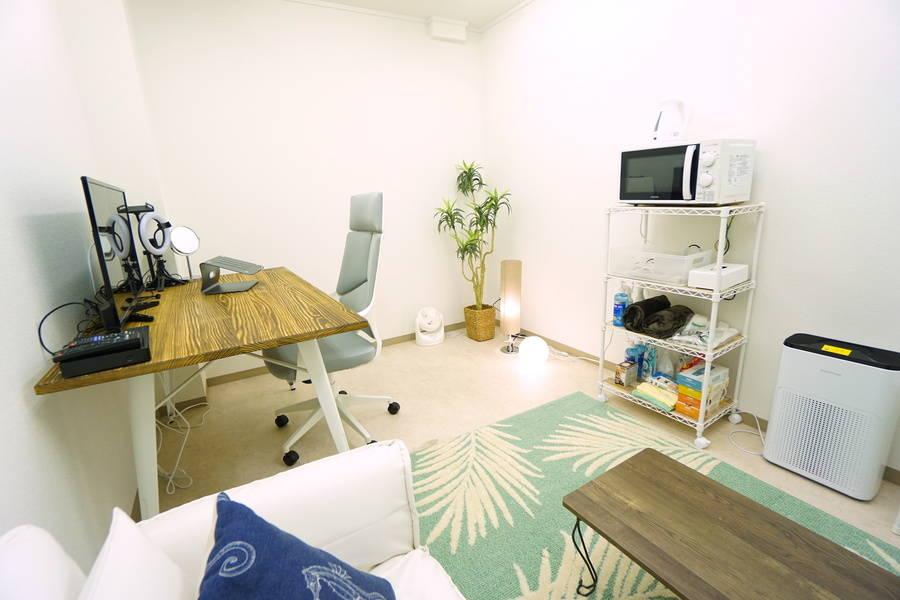 <高輪台ミニマルオフィスB101>完全個室✨モニター/Wi-Fiあり!テレワーク/リモートワーク/Web会議,面接/撮影
