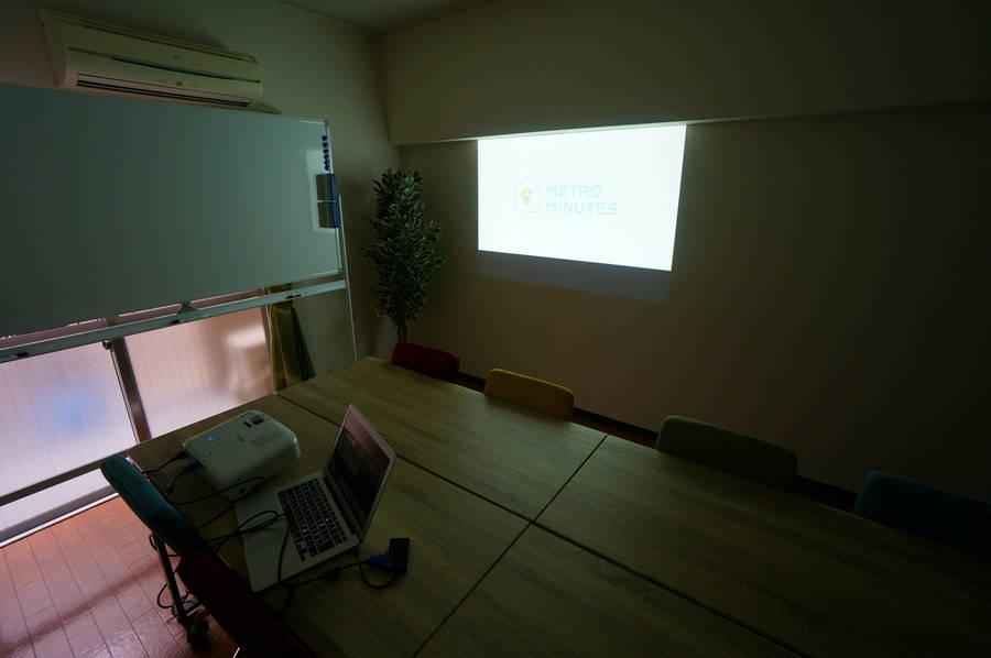 ⭐️光回線導入!⭐️<SAKURA SPACE 五反田>リモートワーク・テレワークにも最適!五反田駅より徒歩3分⭐️12名収容⭐ホワイトボード/プロジェクタ無料