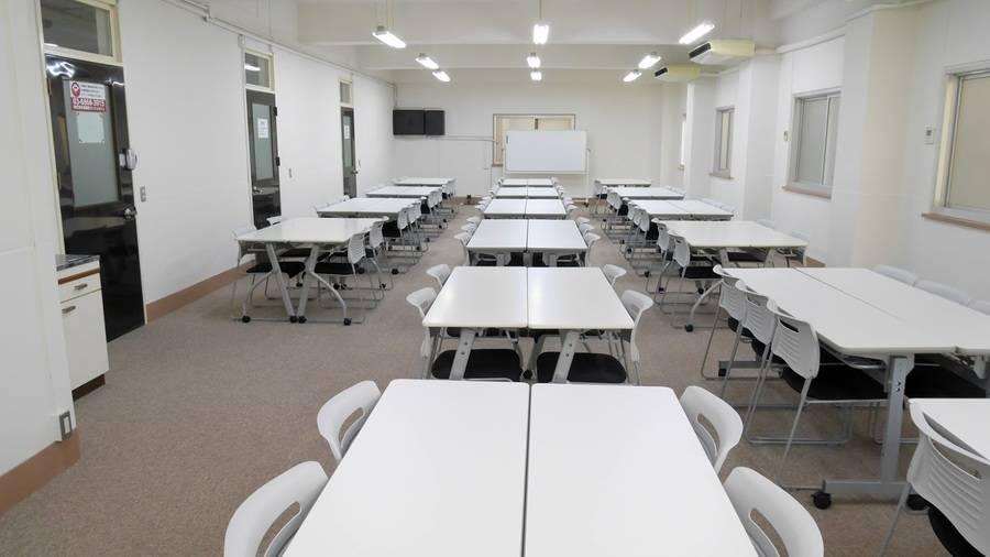 【飯田橋駅東口2分】24H・年中無休!最大103名ご利用可能!大型個室貸し会議室