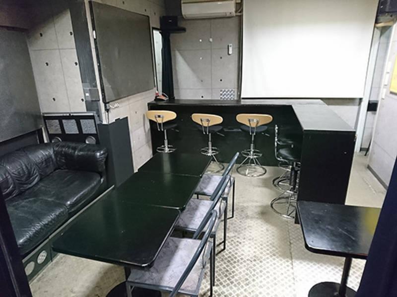 中野 24Hルナベース キッチン、プロジェクター、wifi完備