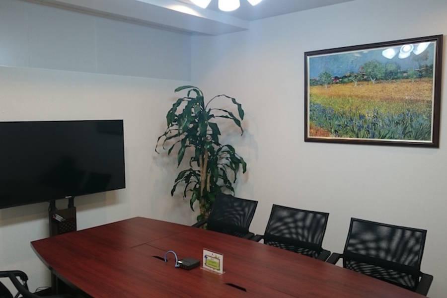 【東梅田】完全個室!単独Wi-Fiの利用が可能な貸し会議室 会議室B