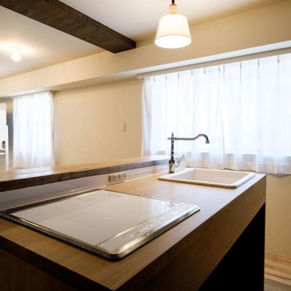 シェアスペース【中目黒】中目黒駅から徒歩3分 オープンキッチン付きのおしゃれな完全個室のリノベーション空間!商品撮影やママ会にも人気です。