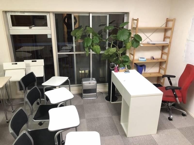 恵比寿3分 最大10人まで使用可能な開放感のある個室スペース!