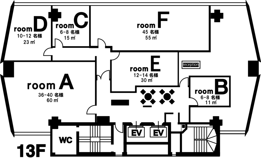 Esta青山 room E【外苑前駅すぐの貸し会議室】