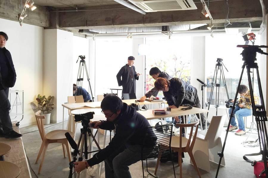 【渋谷 徒歩3分】スチール・ムービー撮影|コワーキング併設|Connecting The Dots