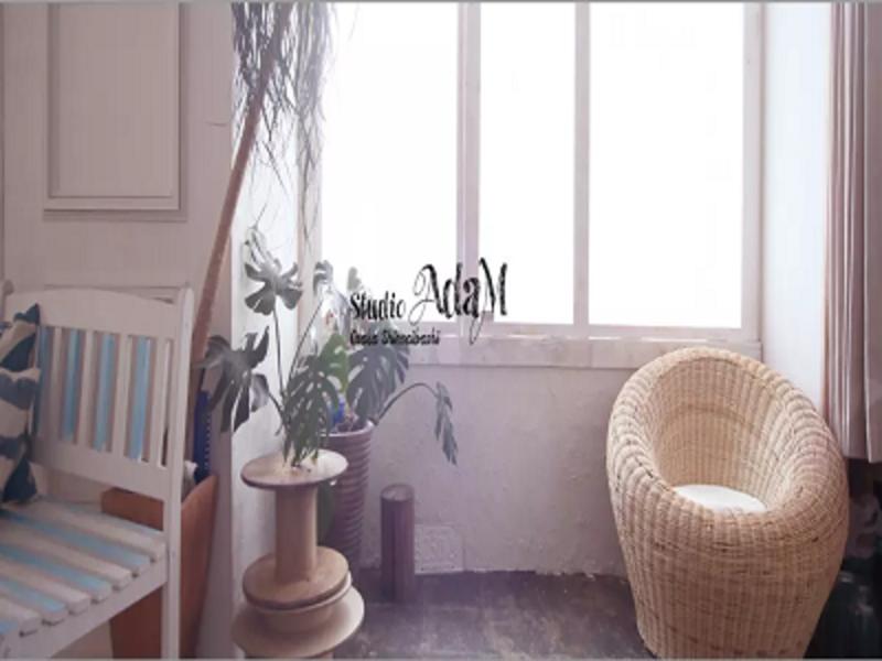 【終日プラン (平日・休日)】大阪心斎橋筋商店街内にある自然光の使えるハウススタジオ・スタジオアダム