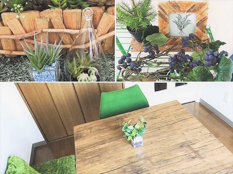 高円寺徒歩3分 個人レッスン、アットホームなパーティにも!SIJIBIZ 緑を感じる憩いの作業スペース&会議室の写真