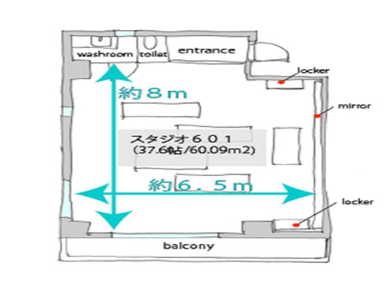【立花駅2分】大阪から10分! フィットネススタジオ(スタジオ601)