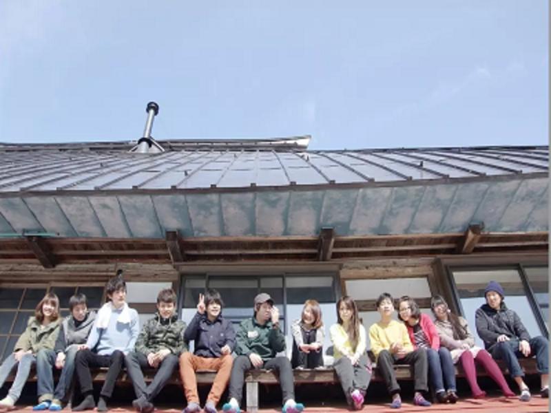 長野県のど田舎!築150年の古民家ゲストハウス梢乃雪