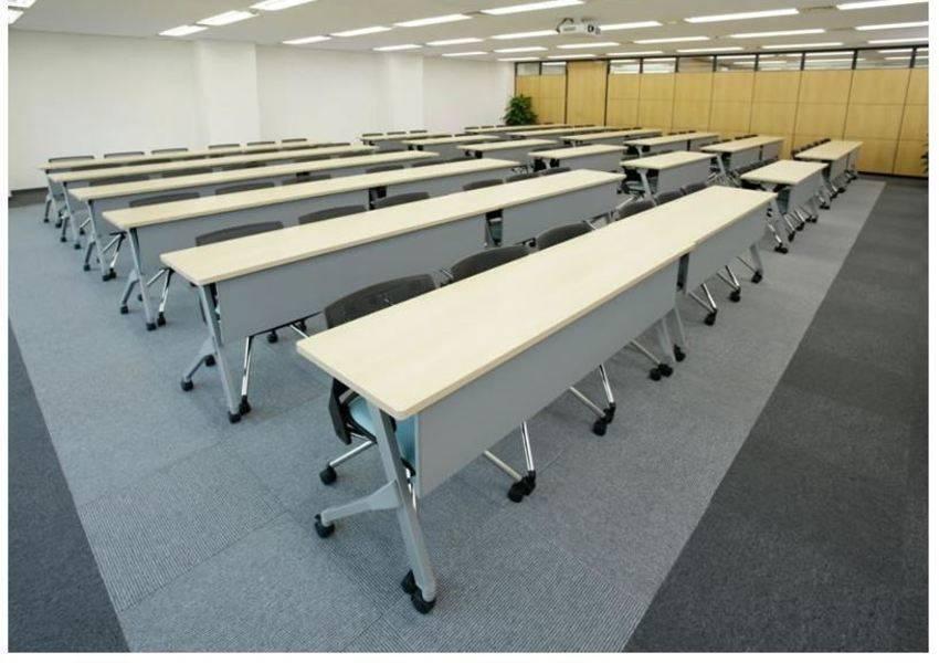 【神田駅2分】駅近24H営業!高級感のある大型個室貸し会議室(標準90名/最大110名)