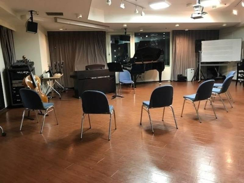 【ヤマハ音楽教室ホール】グランドピアノ常設 着席で30名~ 音楽サロン『ミスタホール』