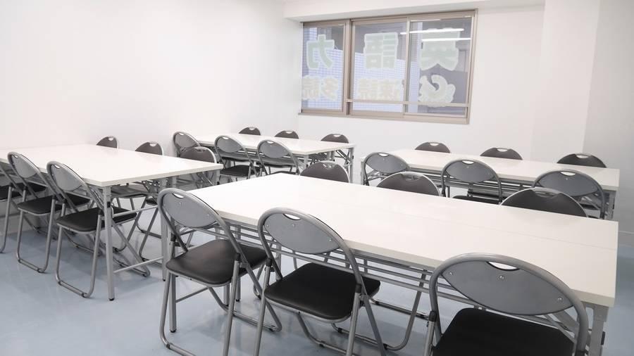 【川口】駅徒歩2分!24時間営業・年中無休★セミナーや講座におすすめ貸し会議室(24名)